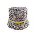 Palarie colorata de vara pentru copii 50 cm