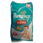 Scutece chilotel Pampers Baby-Dry Nappy Pants 4 (9-15 kg) 4 buc x 6 pachete 24 scutece