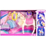 Papusa Barbie Princess Adventure si calul ei magic