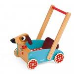 Premergator din lemn Crazy Doggy  cu spatiu de depozitare Janod