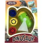 Proiector cu suport 3 diapozitive Dino Bambinice BN024