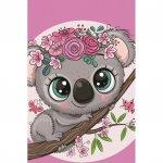 Prosop fata Koala 30x50 cm SunCity roz