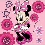 Prosopel magic Minnie Flower 30x30 cm SunCity roz