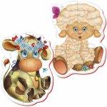 Puzzle bebe vacuta-oita Roter Kafer RK1101-01