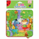 Puzzle magnetic animale din padure Roter Kafer RK5010-03