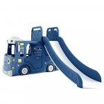 Spatiu de joaca 3 in 1 Nichiduta Happy Bus Blue