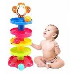 Turn bebe pe 5 niveluri cu 3 mingi colorate