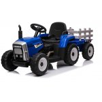Tractor electric 12V cu remorca Farmer Blue