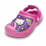 Slapi Crocs Hello Kitty Space Advnture Lnd Clog Pink Lemonade/Fuchsia 22 (132 mm - C6)