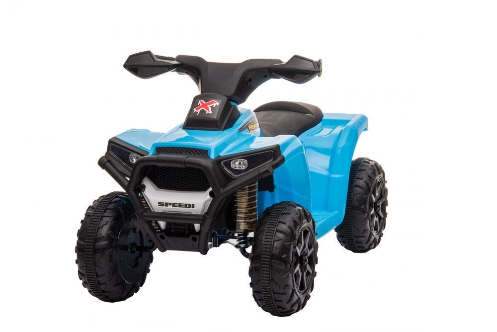 Atv electric 6V Nichiduta Racer X cu roti Eva Blue - 8