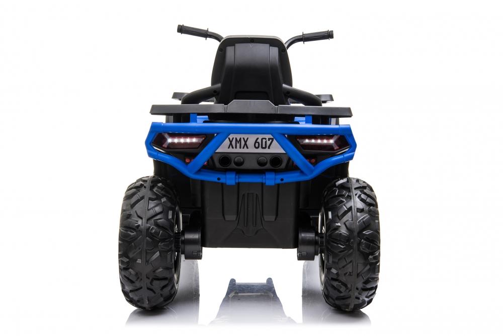 Atv electric Nichiduta Desert cu roti din cauciuc si pornire la buton 12V blue - 3