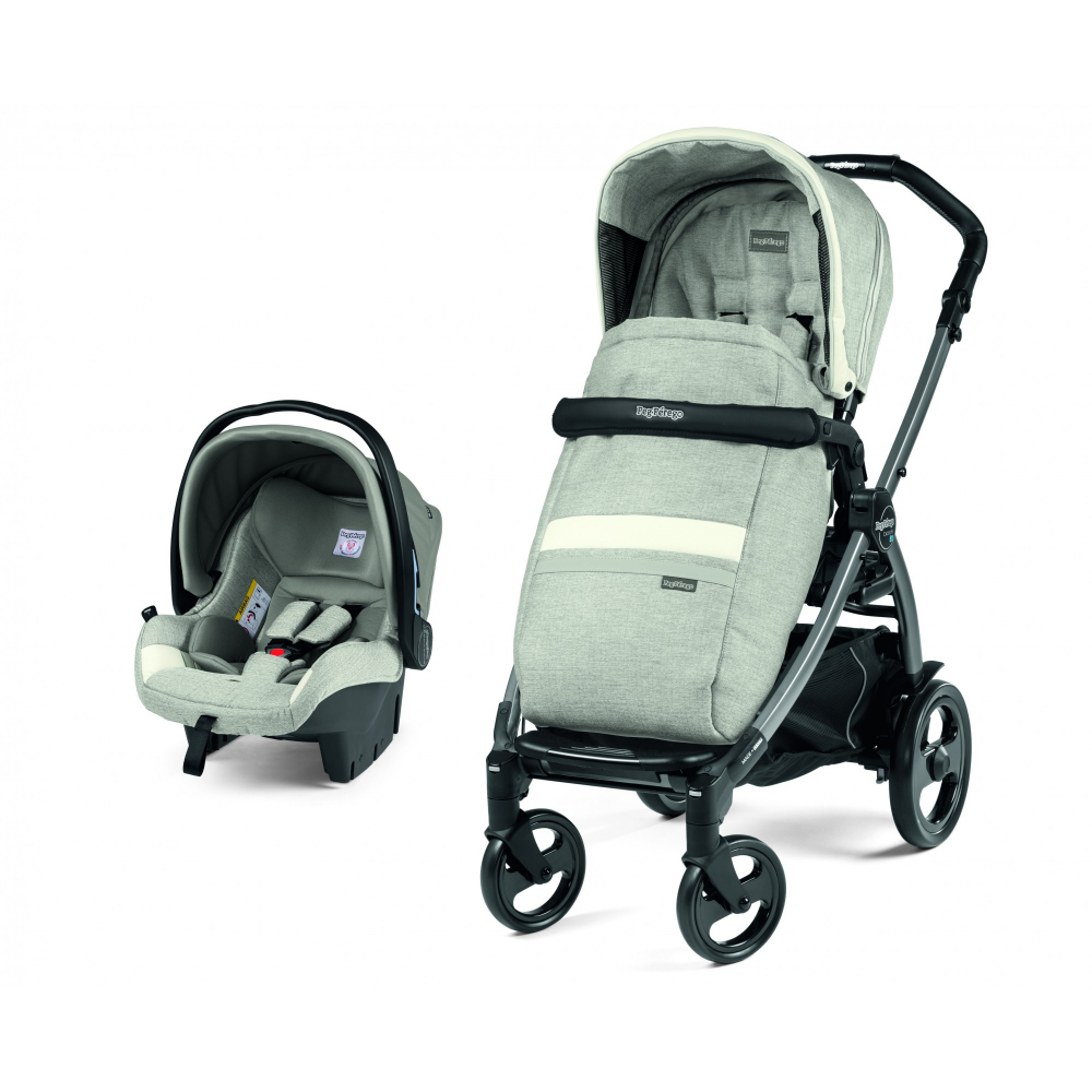 Carucior 2 in 1 Peg Perego Book 51 Titania Luxe Pure 0 - 22 kg imagine