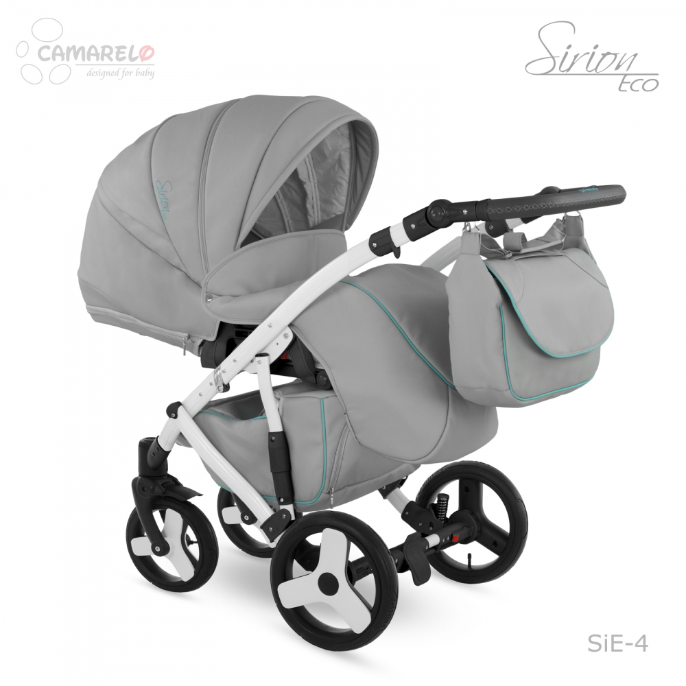 Carucior copii 2 in 1 Sirion Eco Camarelo color SiE-4 imagine