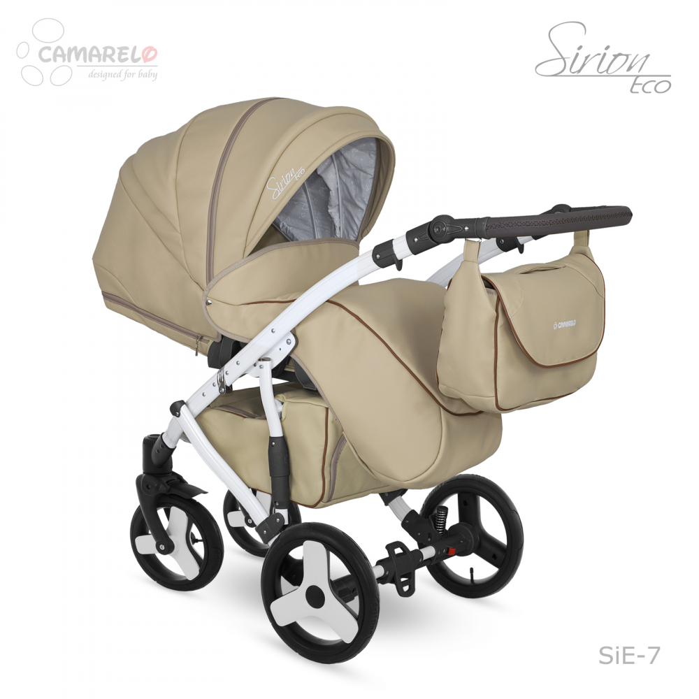 Carucior copii 2 in 1 Sirion Eco Camarelo color SiE-7