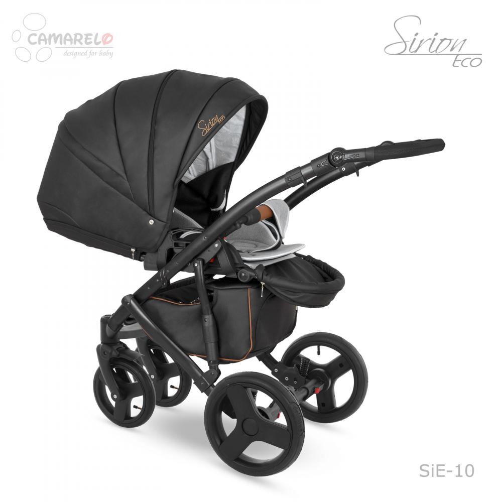 Carucior copii 3 in 1 Sirion Eco Camarelo Color SIE-10