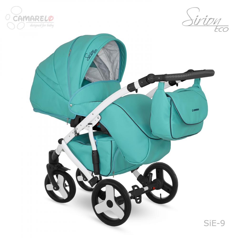 Carucior copii 3 in 1 Sirion Eco Camarelo Color SIE-9