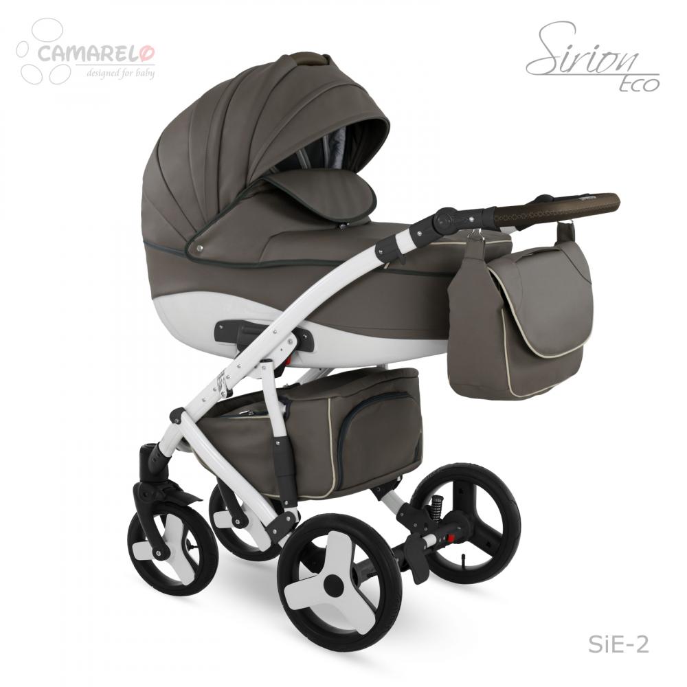 Carucior copii 3 in 1 Sirion Eco Camarelo color SIE-2 - 3