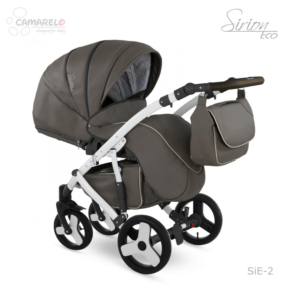 Carucior copii 3 in 1 Sirion Eco Camarelo color SIE-2 - 1