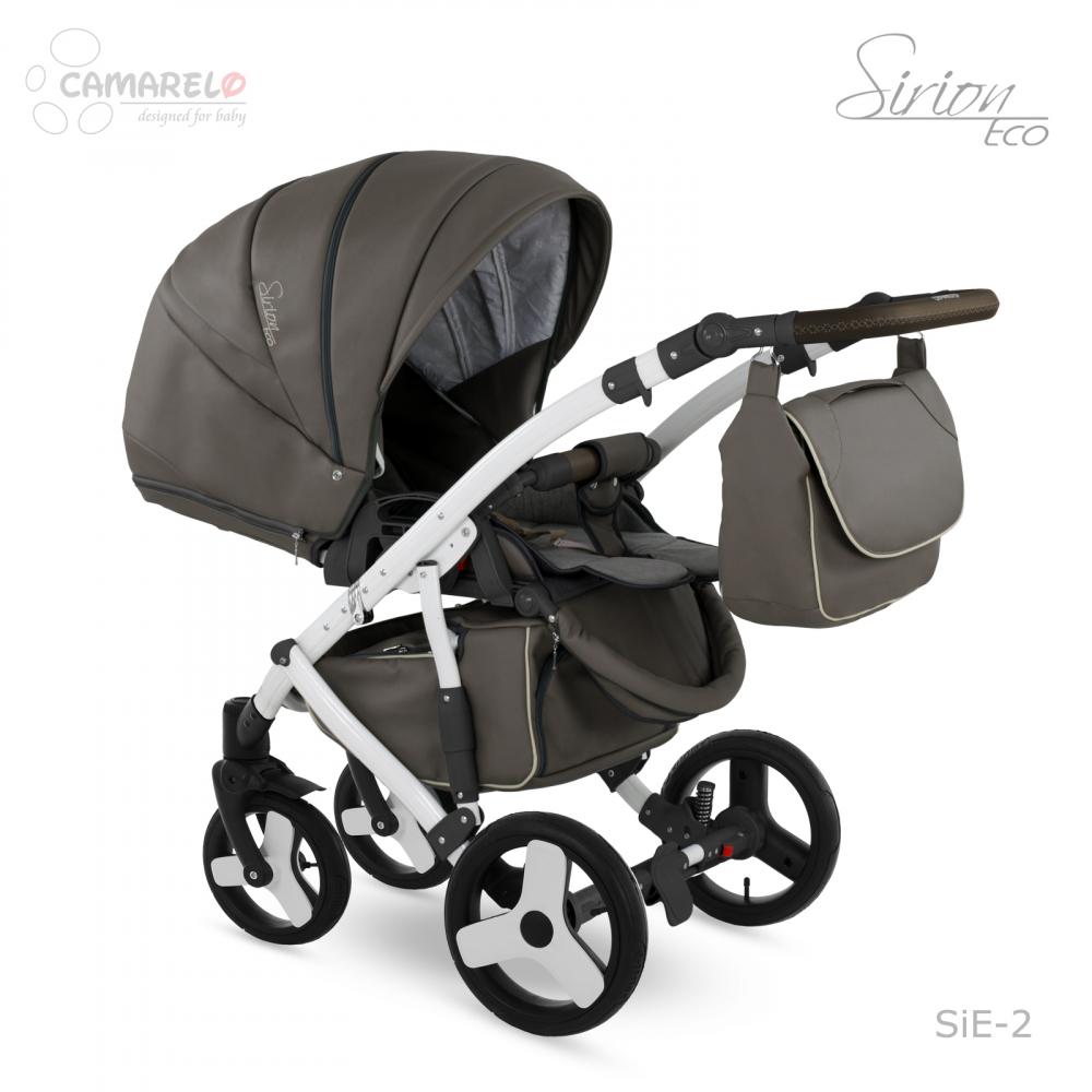 Carucior copii 3 in 1 Sirion Eco Camarelo color SIE-2 - 2