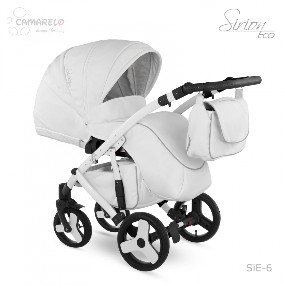 Carucior copii 3 in 1 Sirion Eco Camarelo color SIE-6 imagine