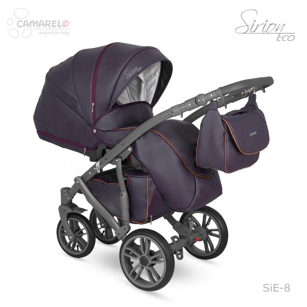 Carucior copii 3 in 1 Sirion Eco Camarelo color SIE-8
