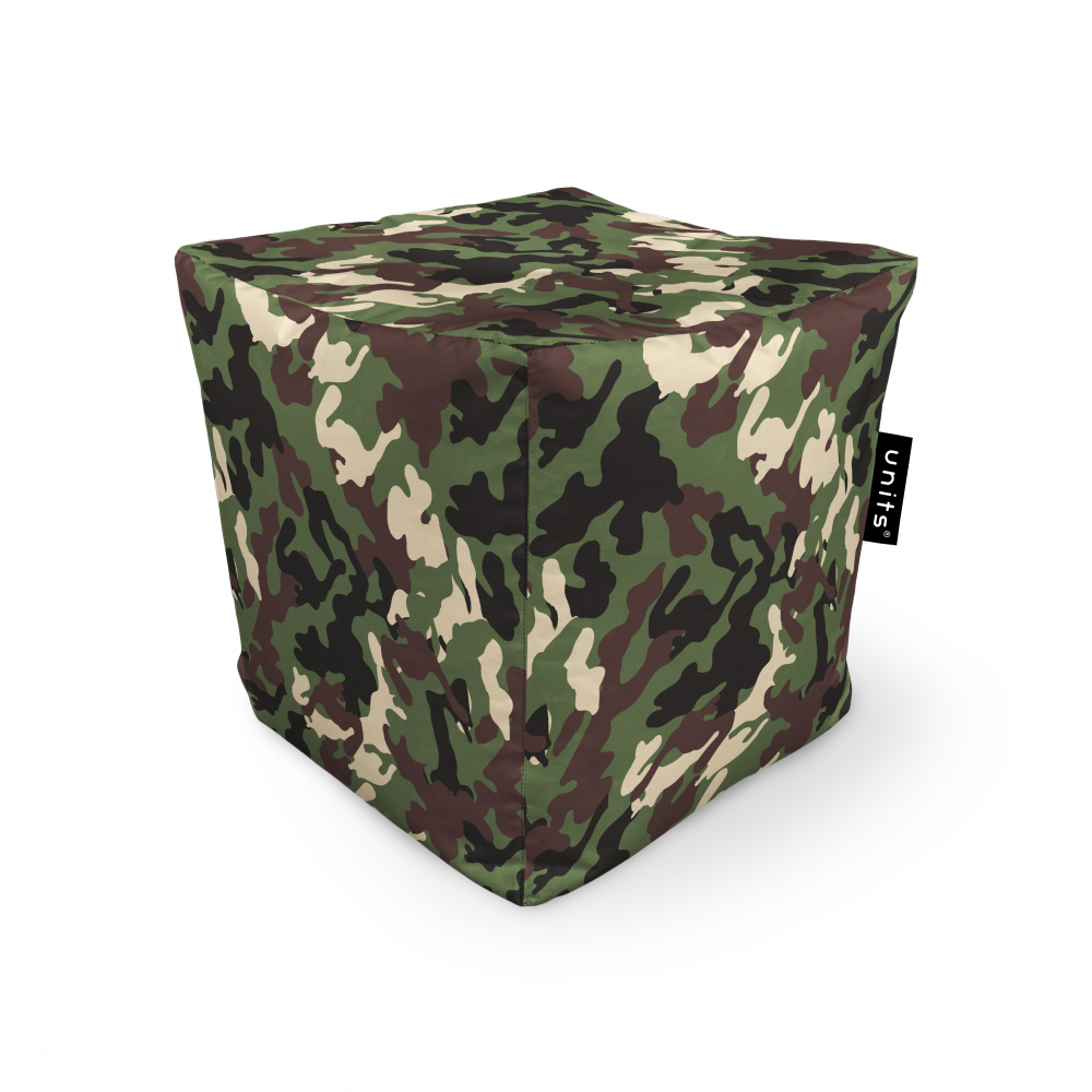 Fotoliu Units Puf Bean Bags tip cub impermeabil camuflaj armata