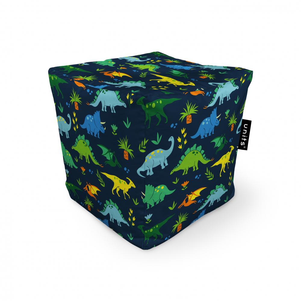 Fotoliu Units Puf Bean Bags tip cub impermeabil dinozauri