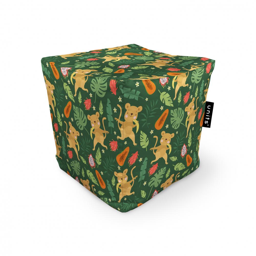 Fotoliu Units Puf Bean Bags tip cub impermeabil maimute si frunze