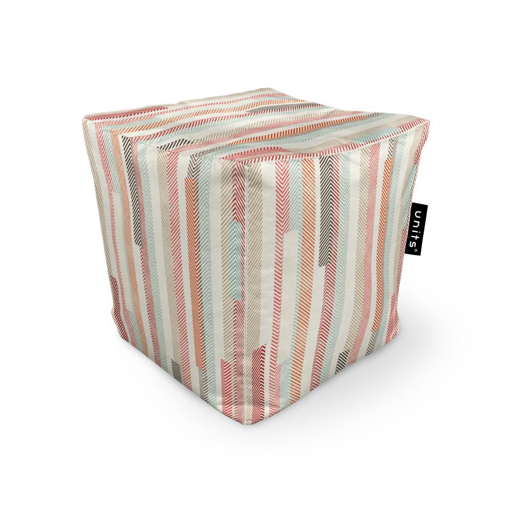 Fotoliu Units Puf Bean Bags tip cub impermeabil model multicolor vertical