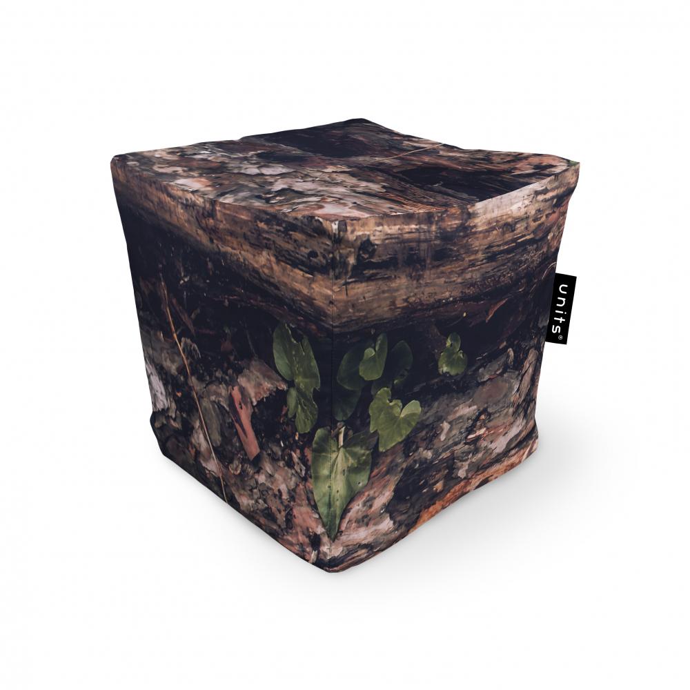 Fotoliu Units Puf Bean Bags tip cub impermeabil scoarta copac