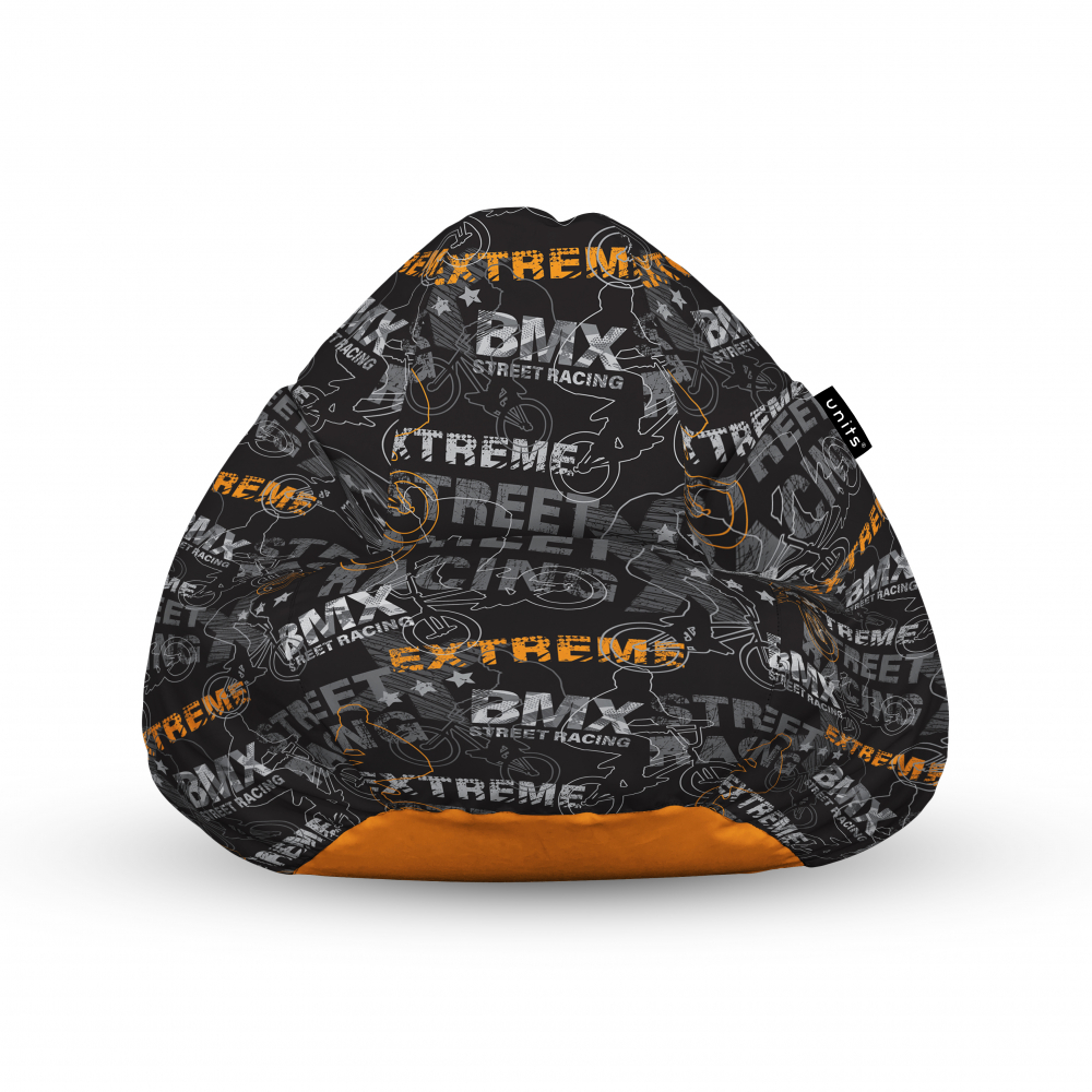 Fotoliu Units Puf Bean Bags tip para impermeabil cu maner BMX