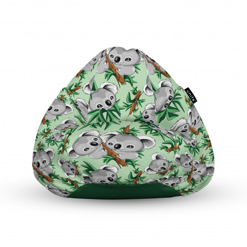 Fotoliu Units Puf Bean Bags tip para impermeabil cu maner koala