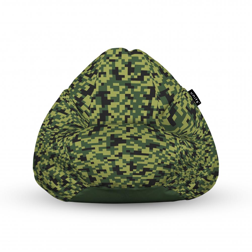 Fotoliu Units Puf Bean Bags tip para impermeabil cu maner Minecraft