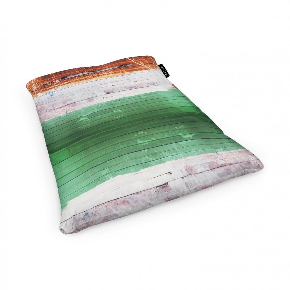 Fotoliu Units Puf Bean Bags tip perna impermeabil lemn vopsit