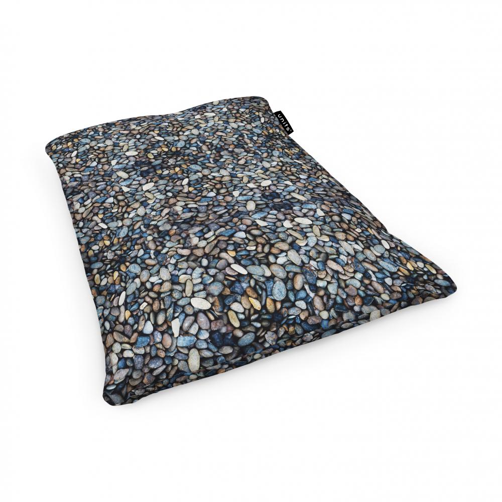 Fotoliu Units Puf Bean Bags tip perna impermeabil pietricele