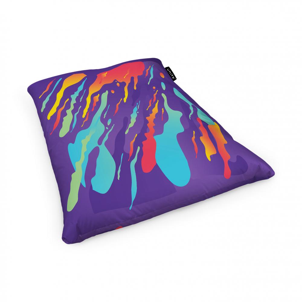 Fotoliu Units Puf Bean Bags tip perna impermeabil retro lava imagine