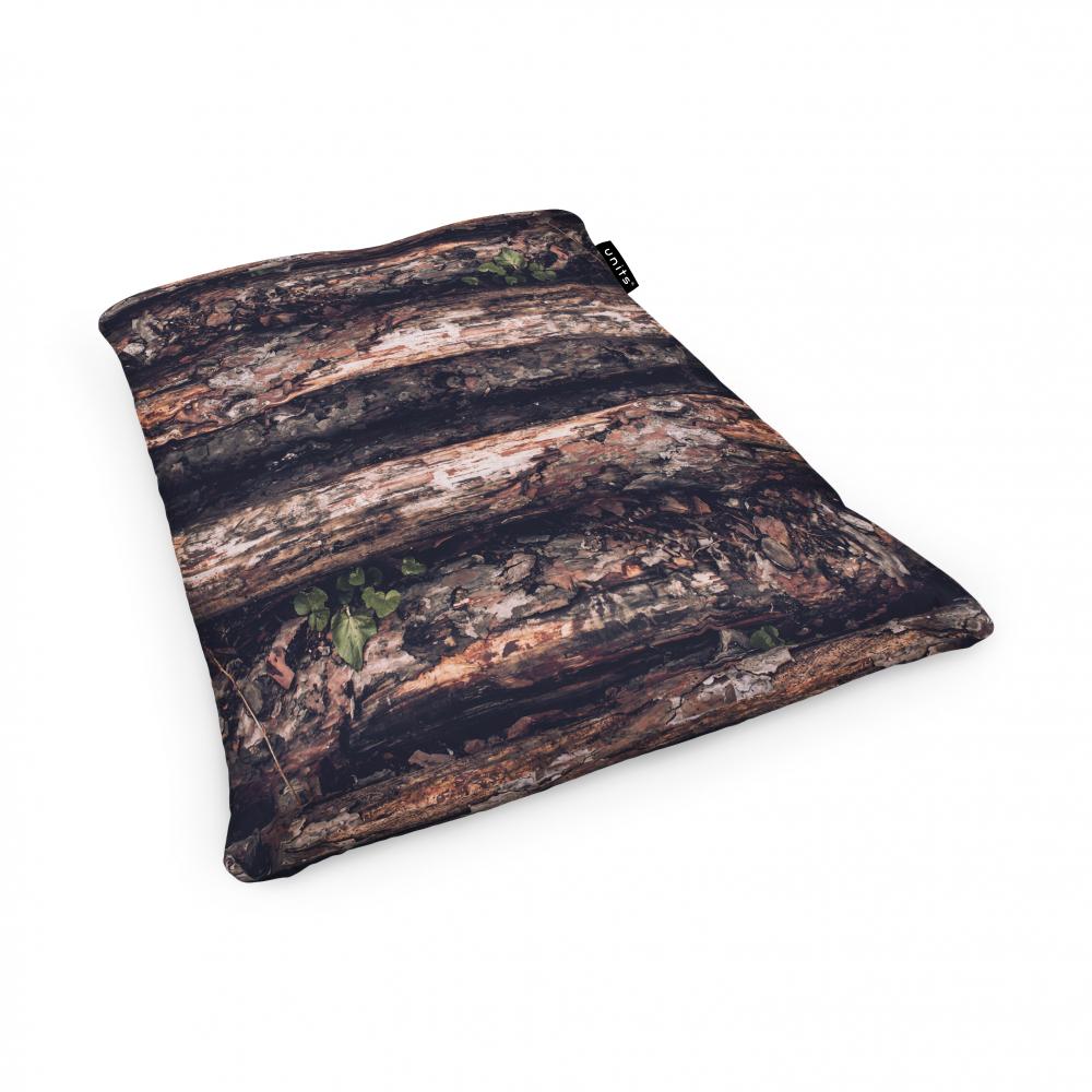 Fotoliu Units Puf Bean Bags tip perna impermeabil scoarta copac