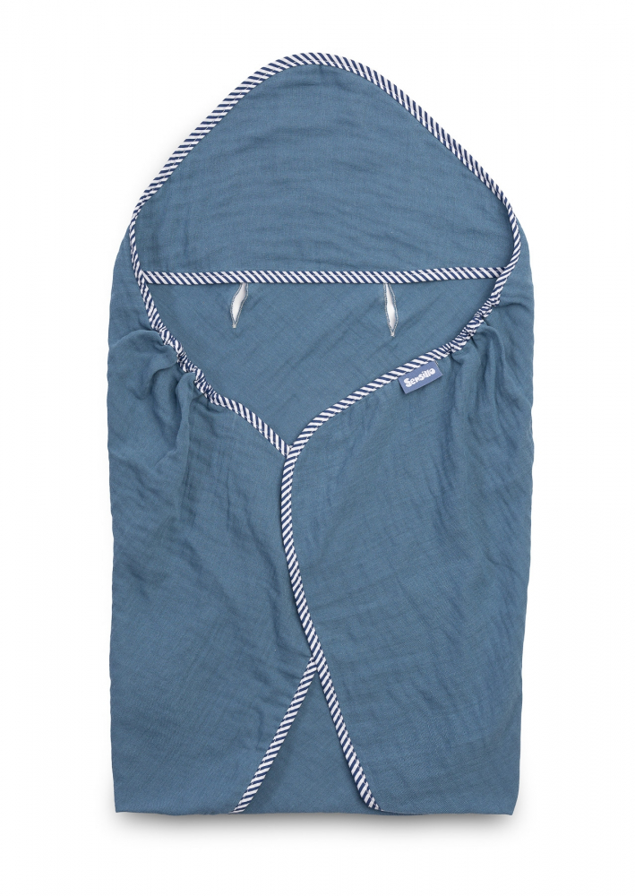 Husa de bumbac pentru cos auto antitranspiratieraze UV Sensillo albastra