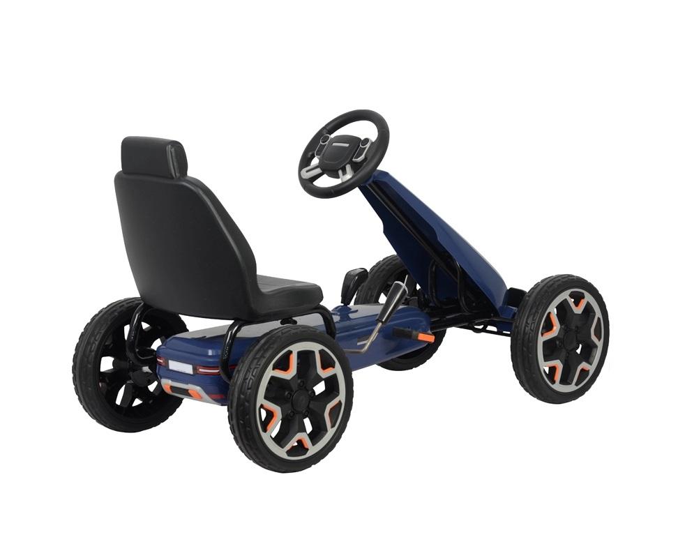 Kart cu pedale Land Rover Go Kart Portofino Blue