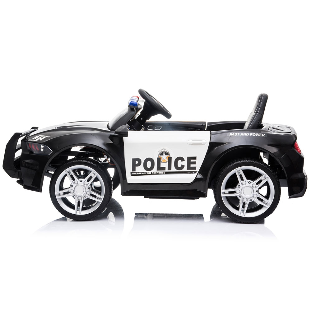 Masinuta electrica Chipolino Police black - 1