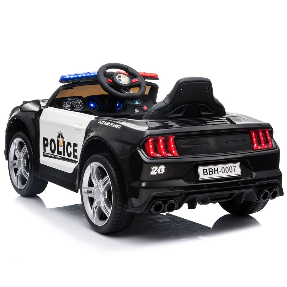 Masinuta electrica Chipolino Police black - 2