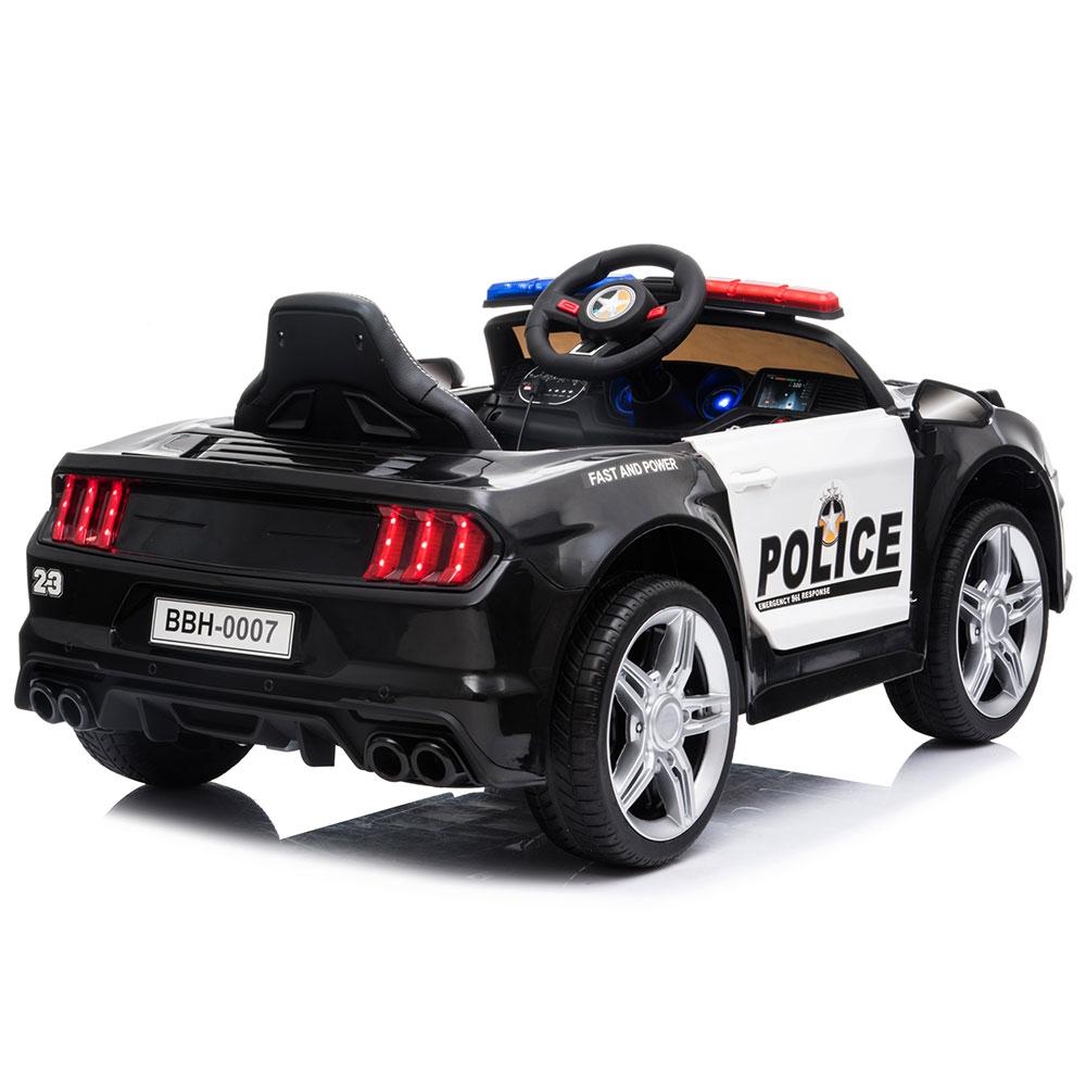 Masinuta electrica Chipolino Police black - 4