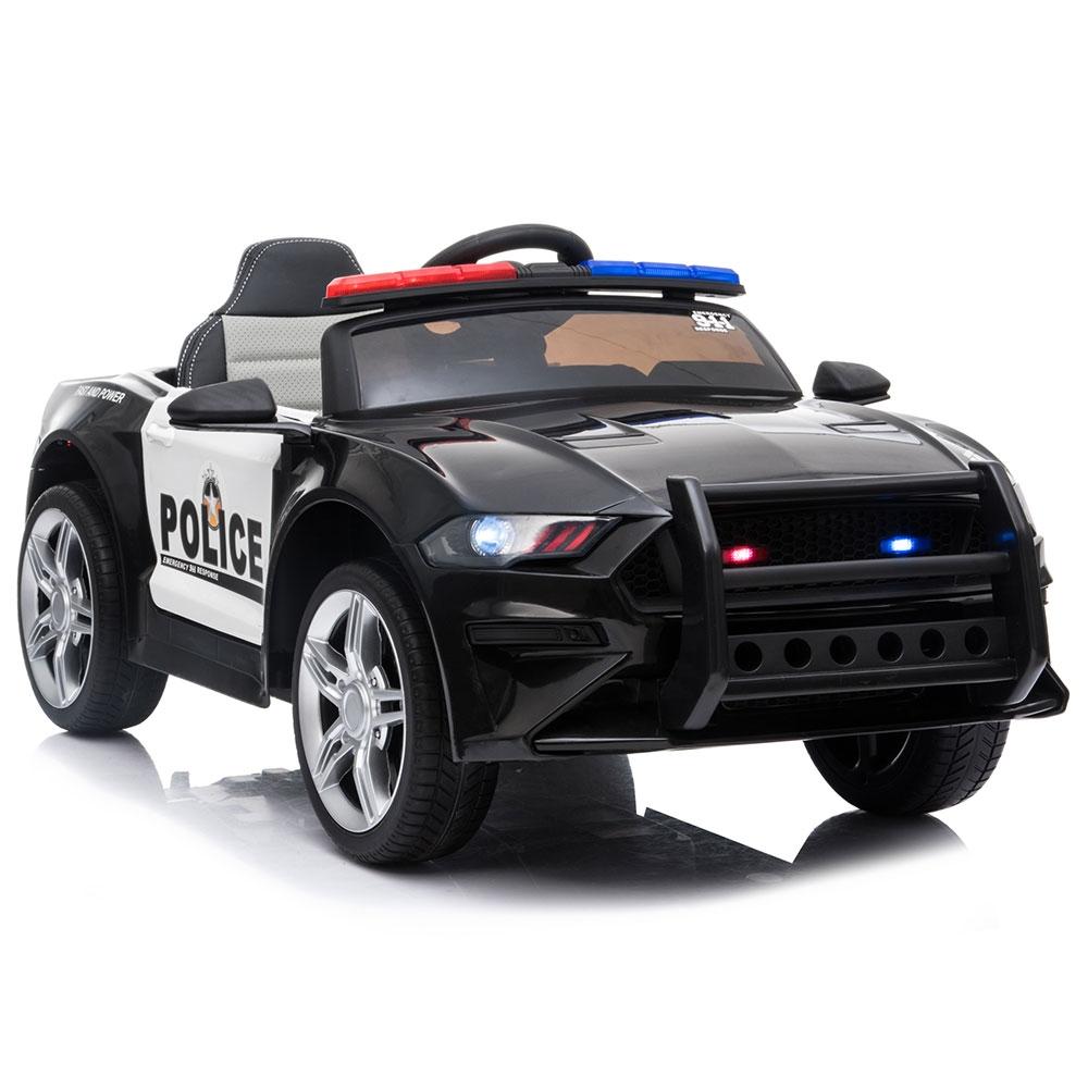 Masinuta electrica Chipolino Police black - 5