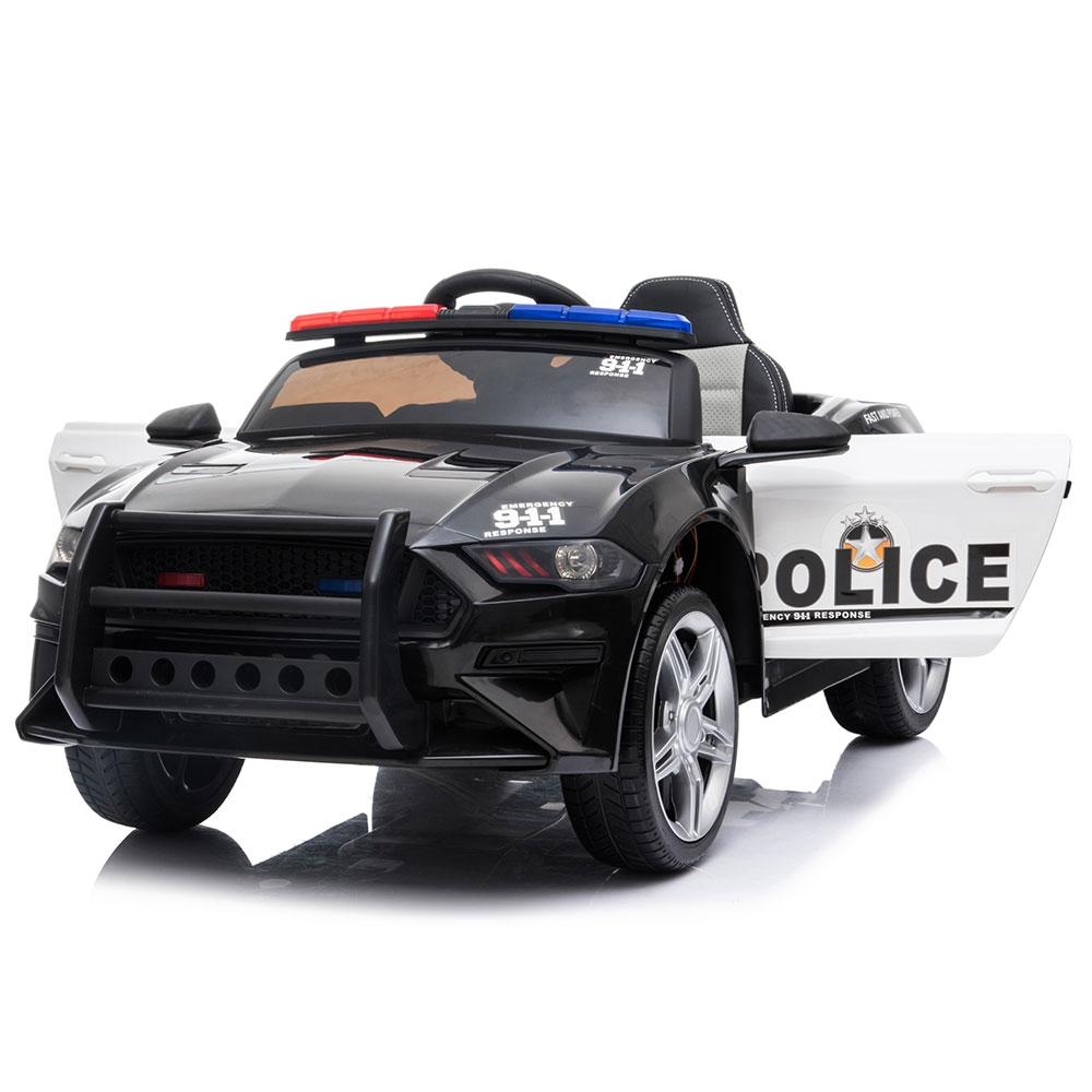 Masinuta electrica Chipolino Police black - 6