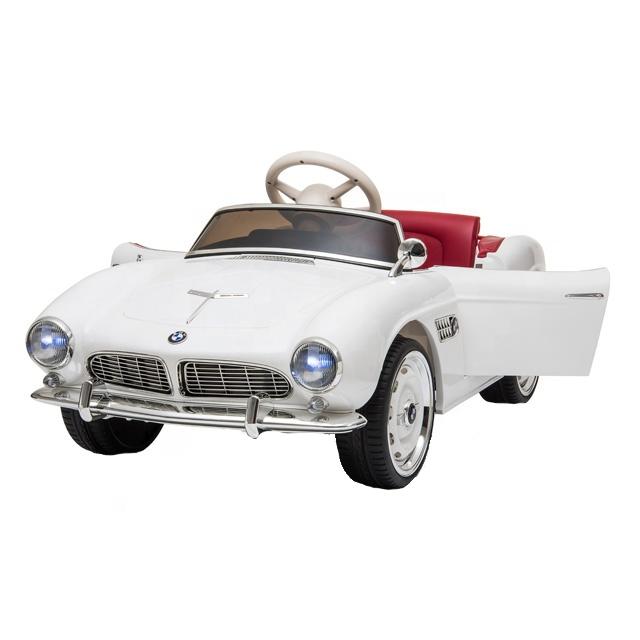 Masinuta electrica cu roti EVA BMW 507 White - 6