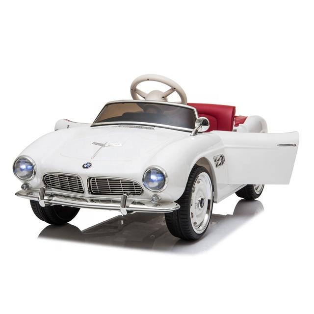 Masinuta electrica cu roti EVA BMW 507 White