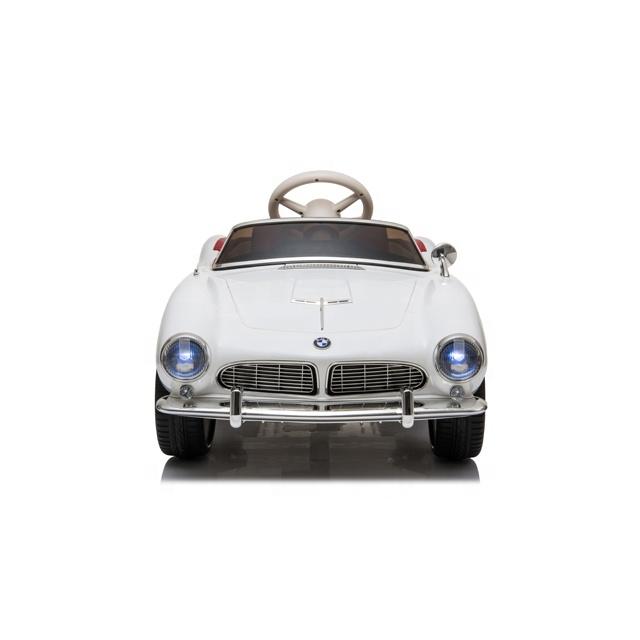 Masinuta electrica cu roti EVA BMW 507 White - 2