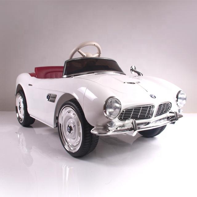Masinuta electrica cu roti EVA BMW 507 White - 3