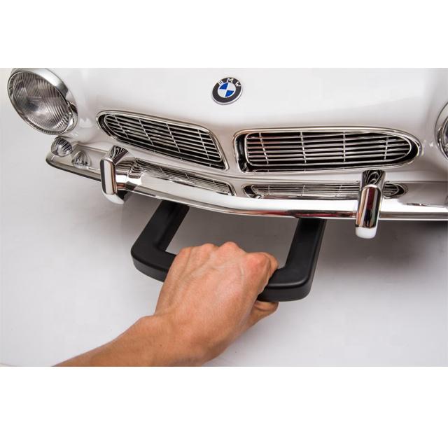 Masinuta electrica cu roti EVA BMW 507 White - 4