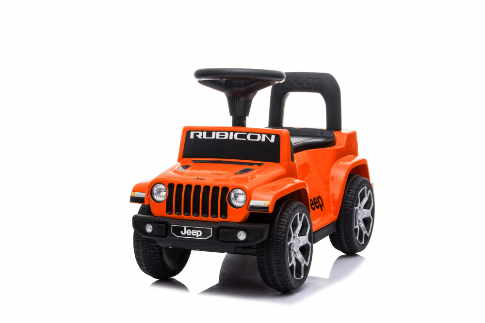 Masinuta fara pedale Jeep Rubicon Orange imagine